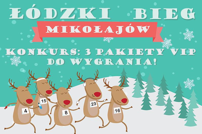 Łódzki Bieg Mikołajów konkurs